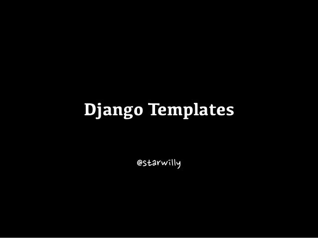 Django templates for Django site templates