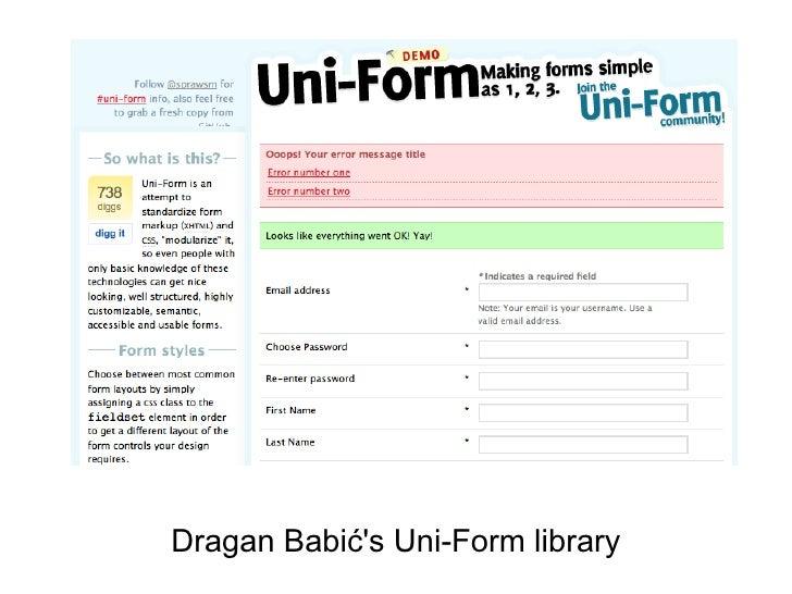 Django Uni-Form