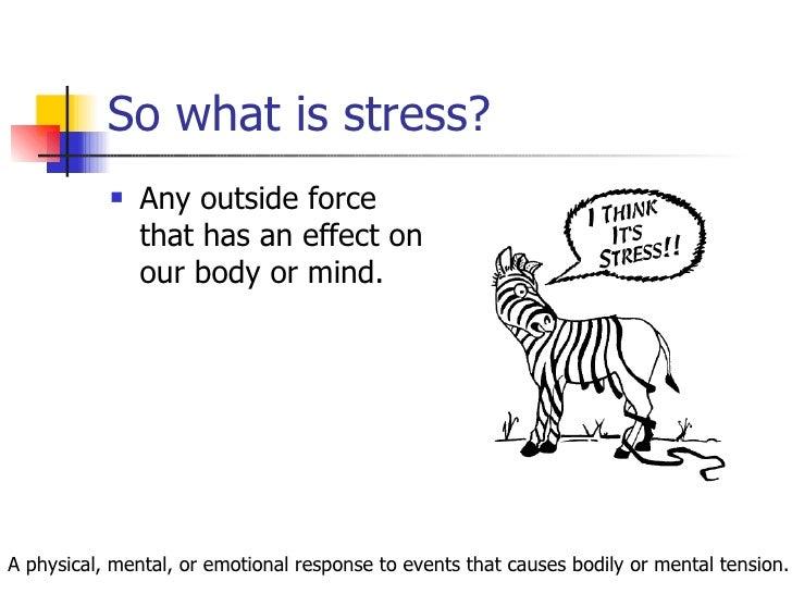 Managing Change: Handling Stress