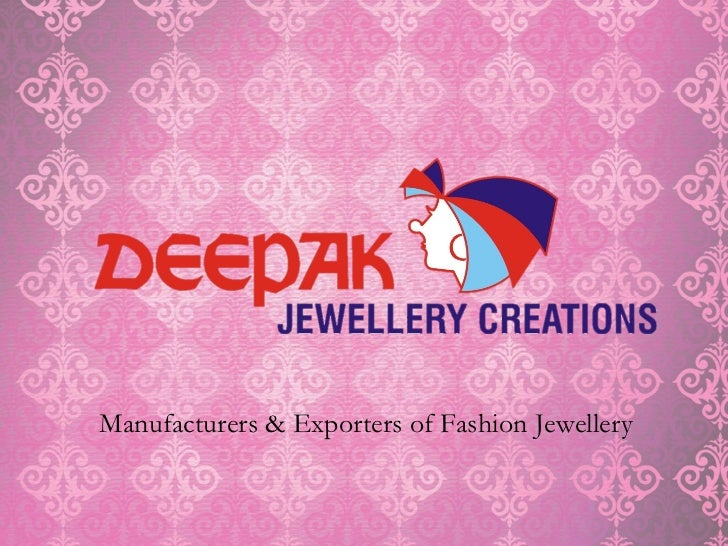 Manufacturers & Exporters of Fashion Jewellery