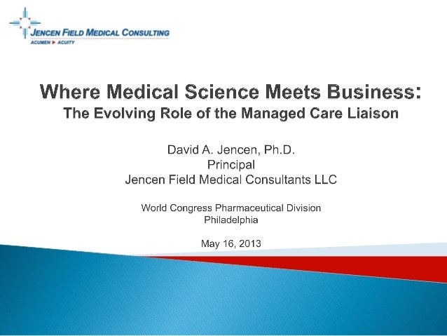 © 2013 All rights reserved. The statements and opinions expressed hereinare those of the speaker and Jencen Field Medical...