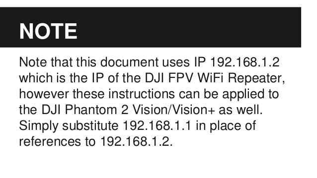 Dji Phantom 2 Vision Vision Open Wrt Webgui Install
