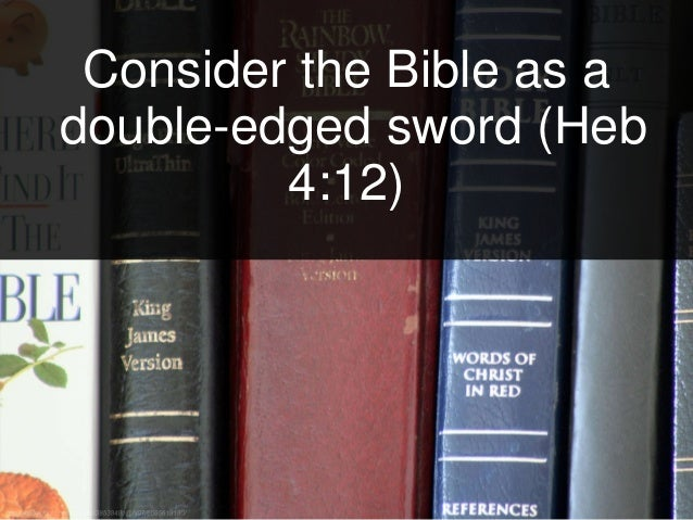Using God's Word as a Sword in Christian Counseling Slide 3