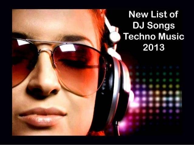 Dj songs list