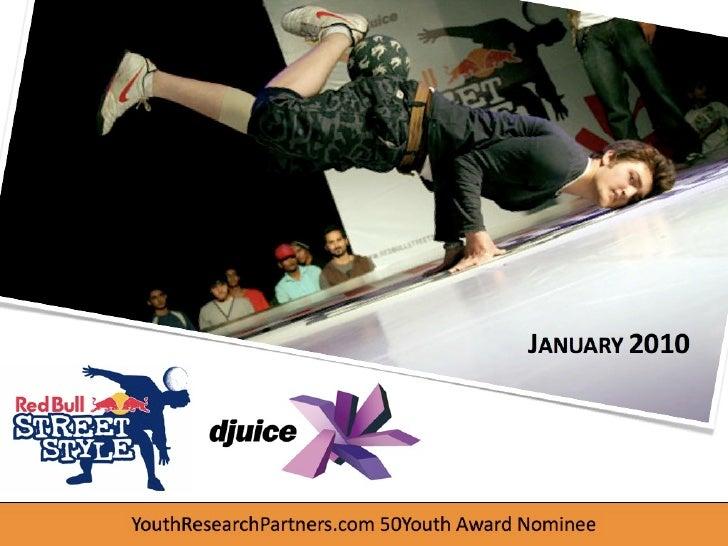JANUARY 2010     YouthResearchPartners.com 50Youth Award Nominee