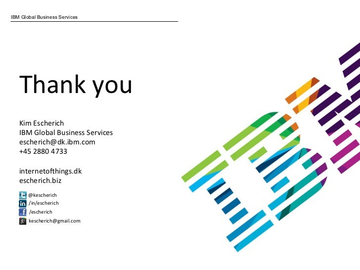 IBM Global Business Services Thank
