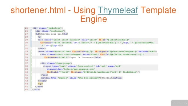Building web applications with java spring using thymeleaf template engine pronofoot35fo Choice Image