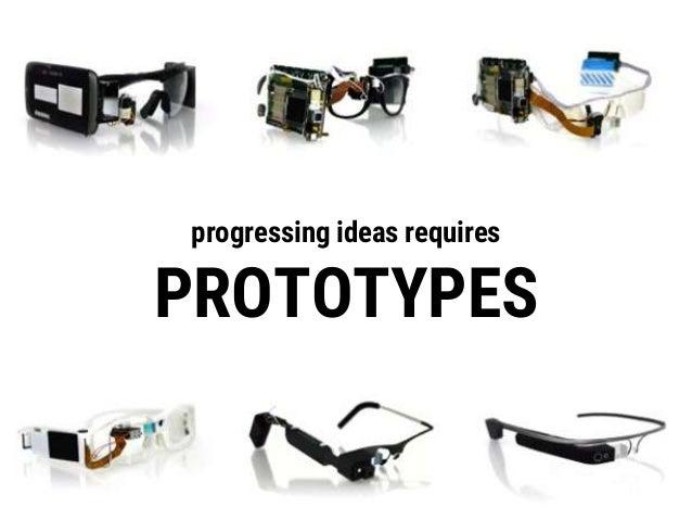 TESTING progressing prototypes requires