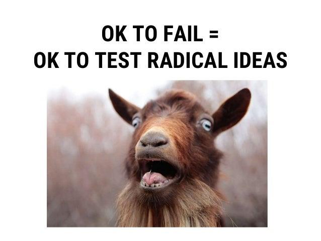 OK TO FAIL = OVERCOME INDIVIDUAL BIASES ✓✓ X Wait….what?!?