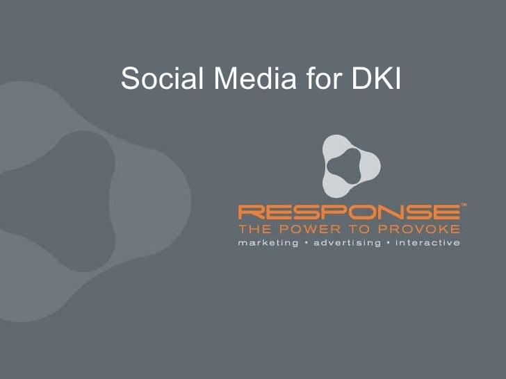 Social Media for DKI