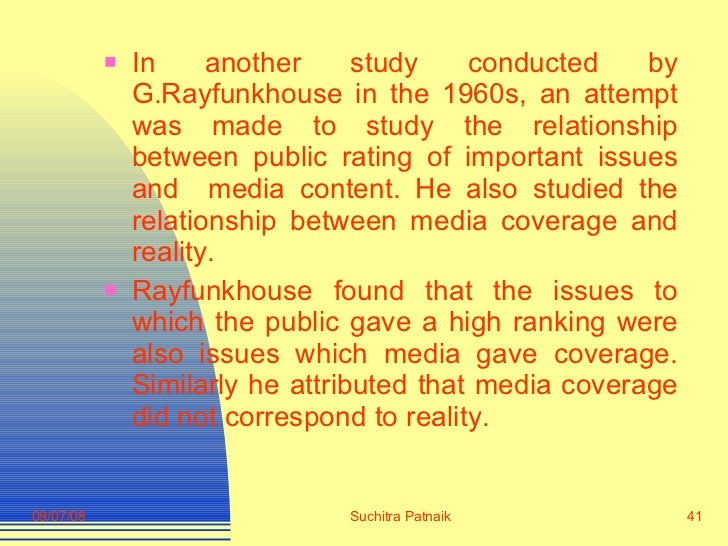 <ul><li>In another study conducted by G.Rayfunkhouse in the 1960s, an attempt was made to study the relationship between p...
