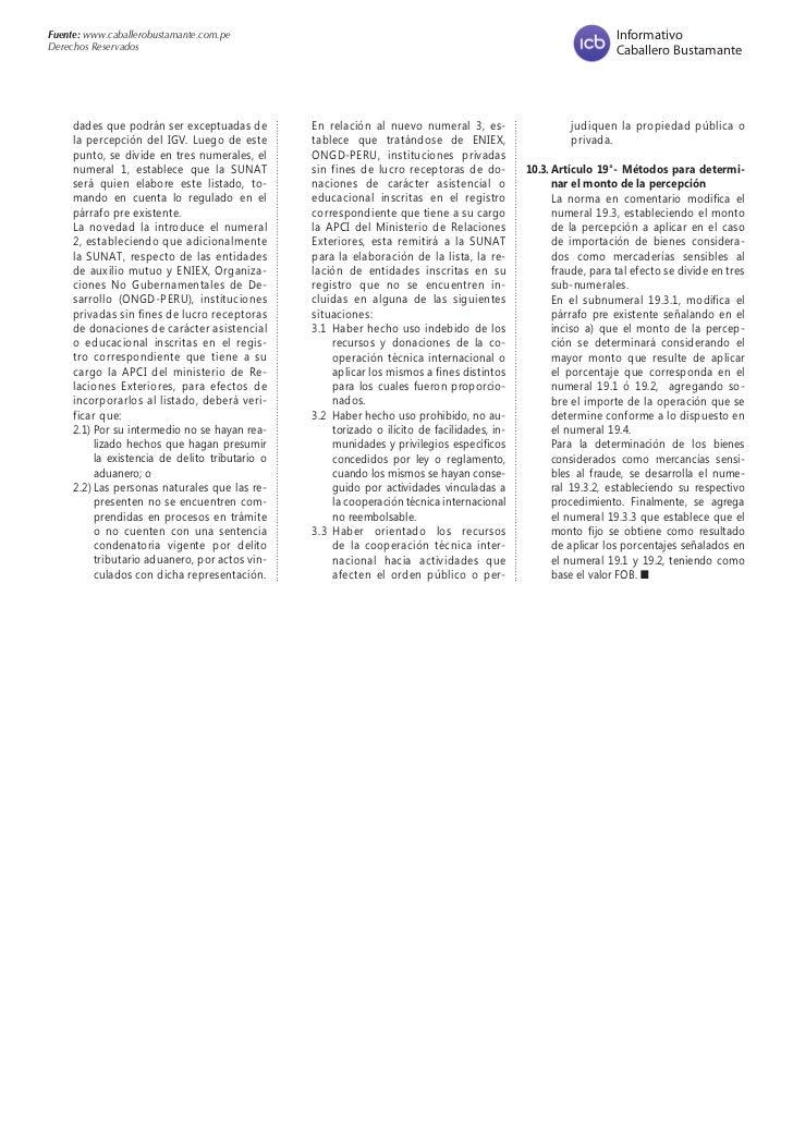 Fuente: www.caballerobustamante.com.pe                                                                                Info...