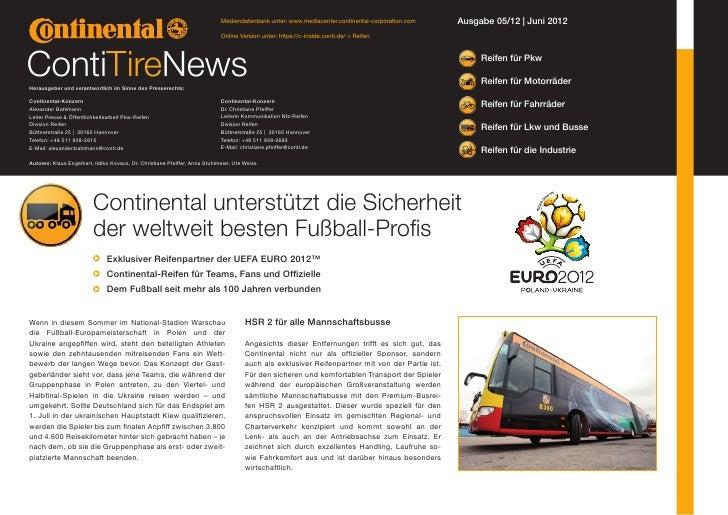 Mediendatenbank unter: www.mediacenter.continental-corporation.com    Ausgabe 05/12 | Juni 2012                           ...