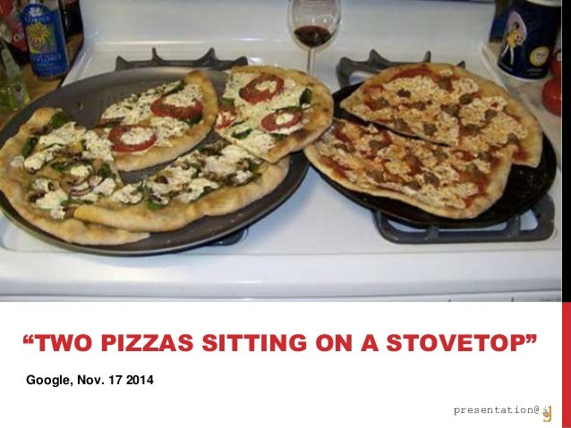"""deeplearning4j.org presentation@ Google, Nov. 17 2014 """"TWO PIZZAS SITTING ON A STOVETOP"""""""