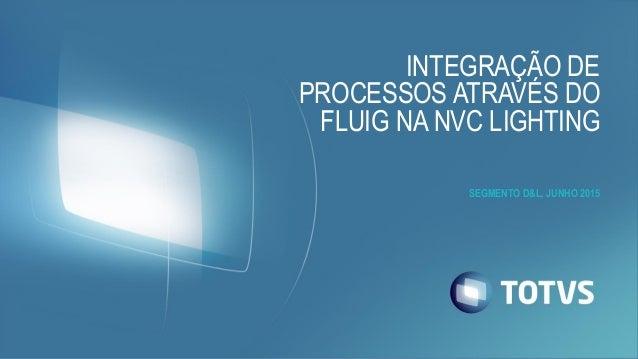 INTEGRAÇÃO DE PROCESSOS ATRAVÉS DO FLUIG NA NVC LIGHTING SEGMENTO D&L, JUNHO 2015