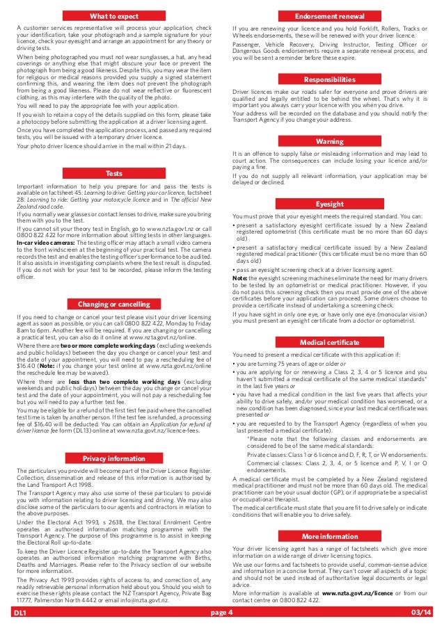 standard truck driver application form