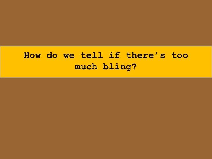 Avoiding the Trap of Clicky-Clicky Bling-Bling