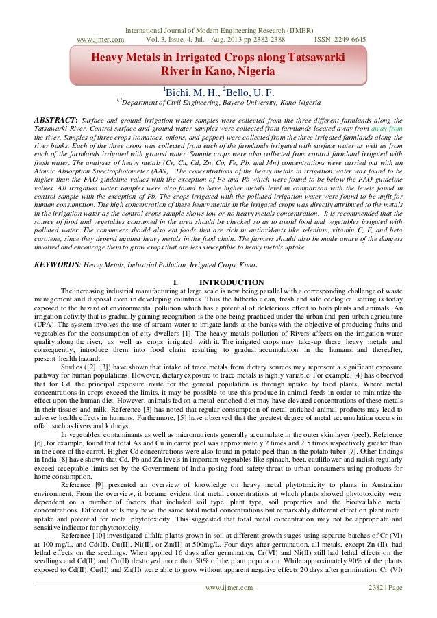 International Journal of Modern Engineering Research (IJMER) www.ijmer.com Vol. 3, Issue. 4, Jul. - Aug. 2013 pp-2382-2388...