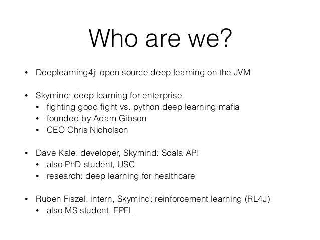 DL4J at Workday Meetup Slide 2