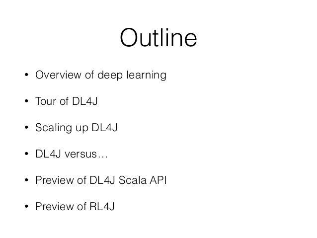 DL4J at Workday Meetup Slide 3