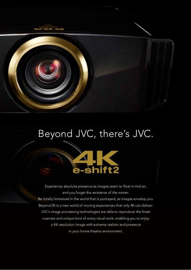 JVC DLA-RS series New