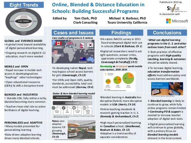 GLOBAL and EVIDENCE-BASED • A global trend toward availability of digital personalized learning. • Ongoing research on dig...