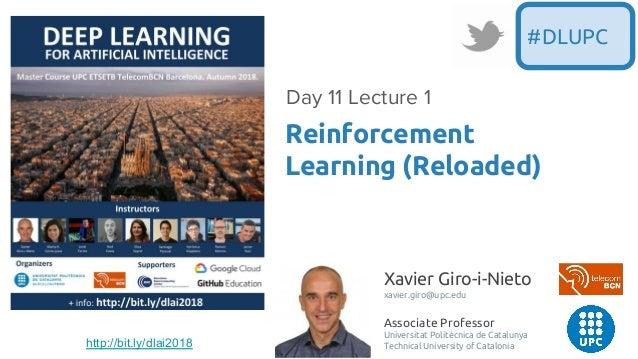Xavier Giro-i-Nieto xavier.giro@upc.edu Associate Professor Universitat Politècnica de Catalunya Technical University of C...