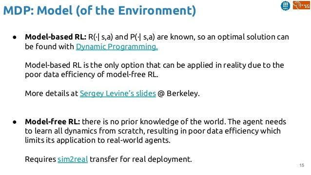 Reinforcement Learning (Reloaded) - Xavier Giró-i-Nieto