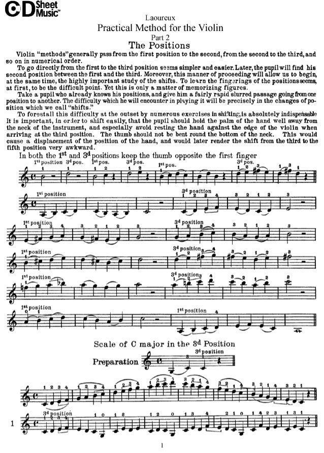 Laoureux A Practical Method for Violin Part 2