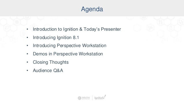 Design Like a Pro: Developing & Deploying Perspective Applications as HMIs Slide 3