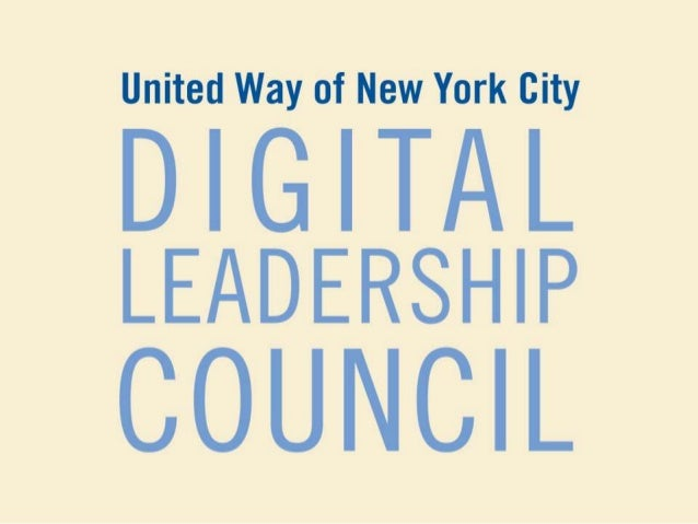United Way of NYC: An Introduction