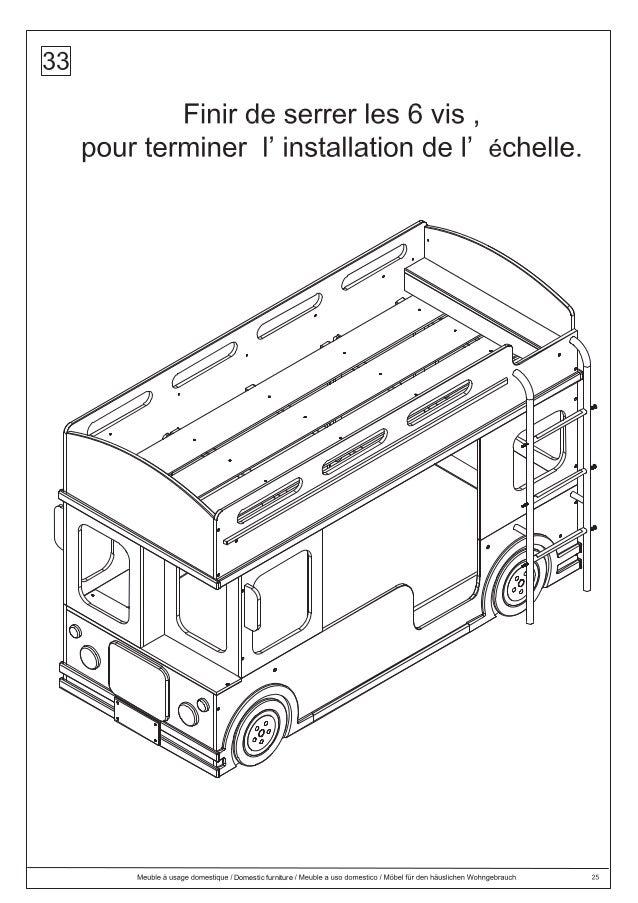 Dlc Instrucciones Armado London Bus