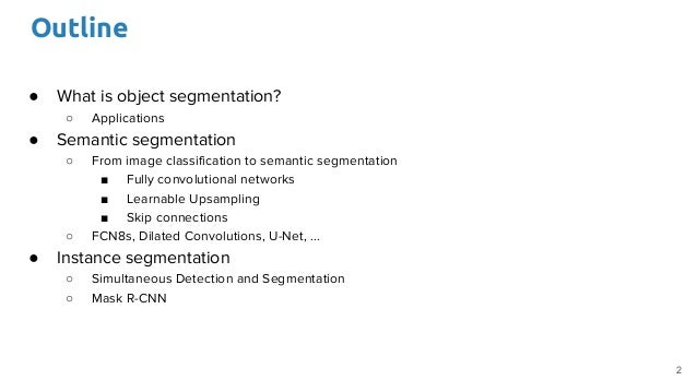 Image Segmentation (D3L1 2017 UPC Deep Learning for Computer