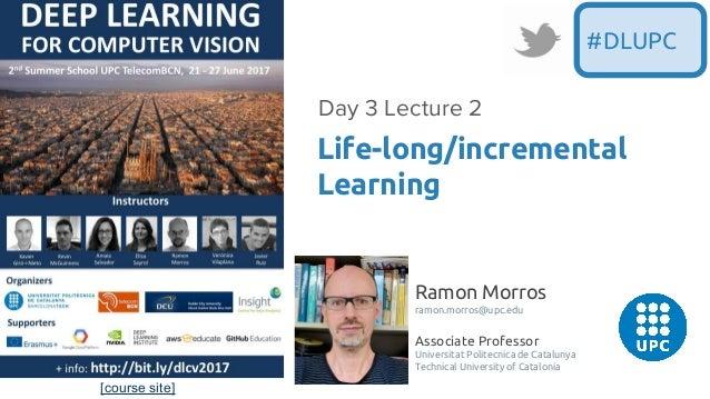 [course site] Ramon Morros ramon.morros@upc.edu Associate Professor Universitat Politecnica de Catalunya Technical Univers...