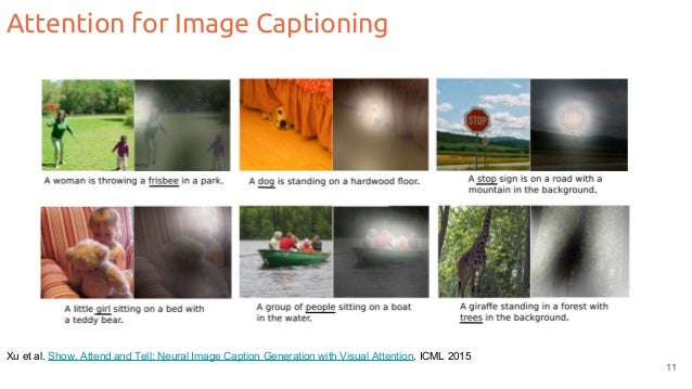 Attention Models (D3L6 2017 UPC Deep Learning for Computer Vision)