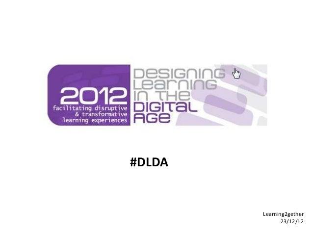 #DLDA        Learning2gether               23/12/12