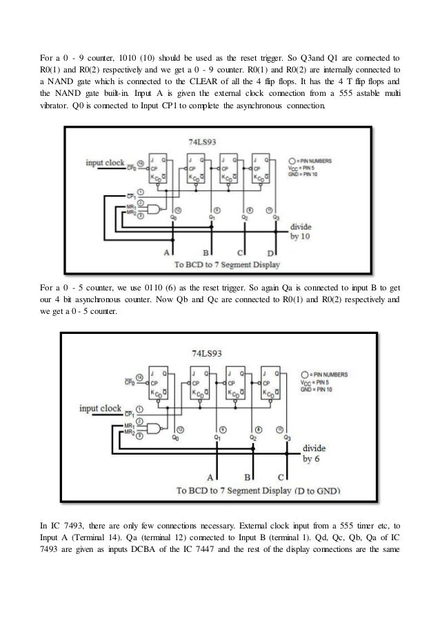 logic diagram 7493 digital clock using logic gates  digital clock using logic gates