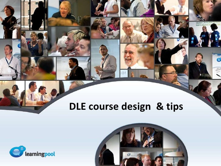 DLE course design & tips