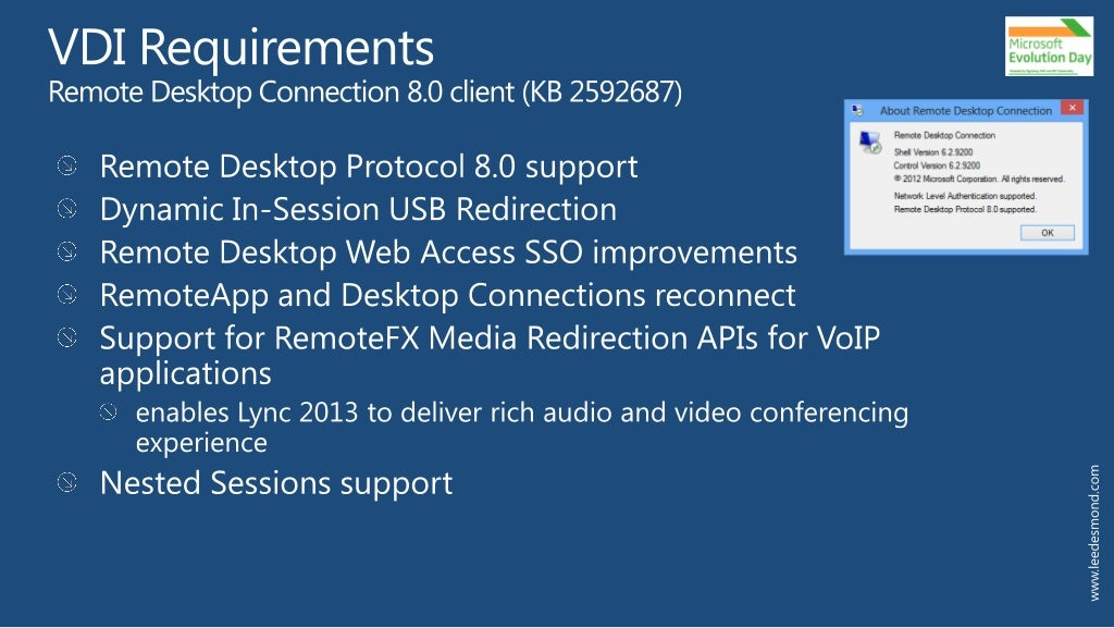 Making Lync VDI work best in your virtualization environment