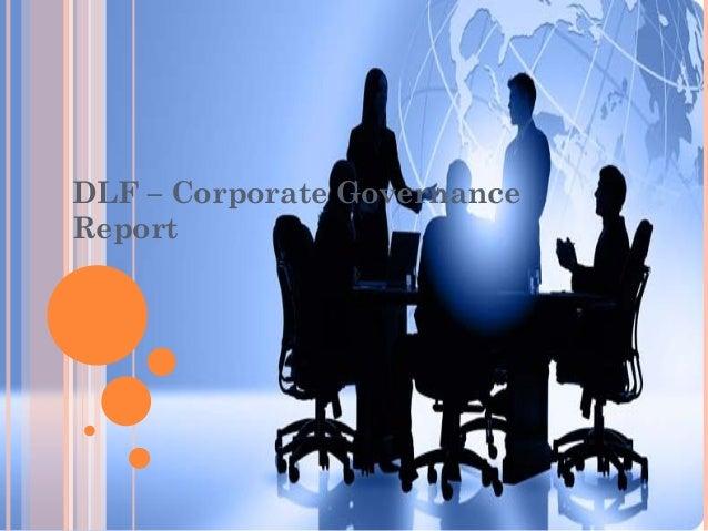 DLF – Corporate Governance Report