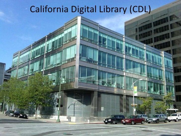 California Digital Library (CDL)