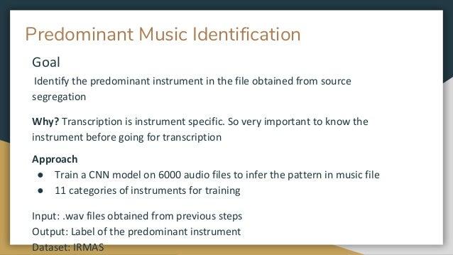 Automatic Music Transcription
