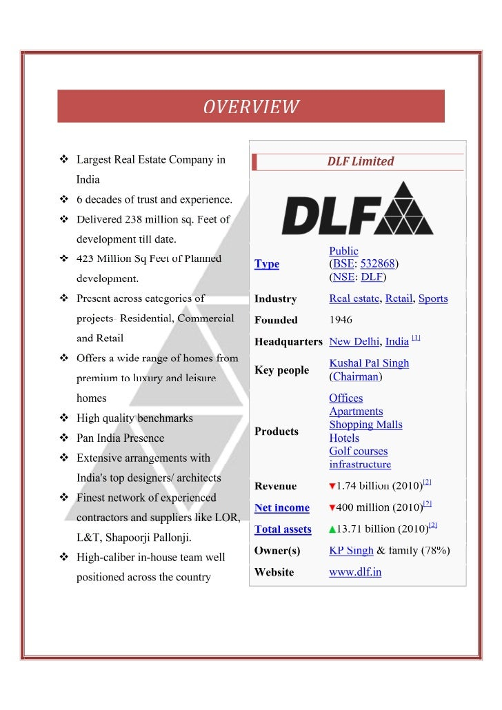 "swot analysis of dlf construction pvt ltd Swot analysis of the green directory strengths: --the green directory (""gd"") allows unlimited access for all users and no fee is required."