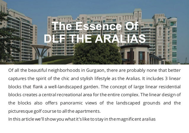Of all the beautiful neighborhoods in Gurgaon, there are probably none that better captures the spirit of the chic and sty...