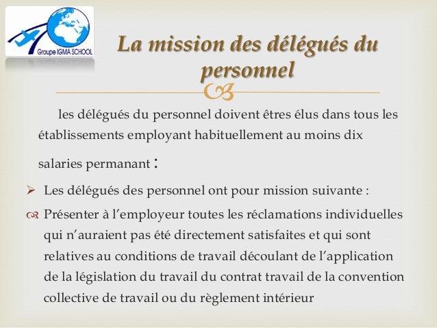 lettre de demission de delegue du personnel Délégués du personnel lettre de demission de delegue du personnel