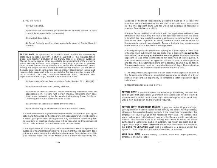 texas drivers license renewal application form