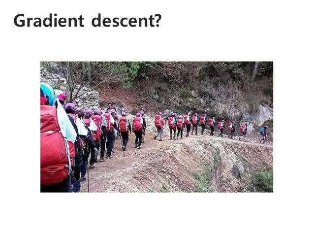 Gradient descent?