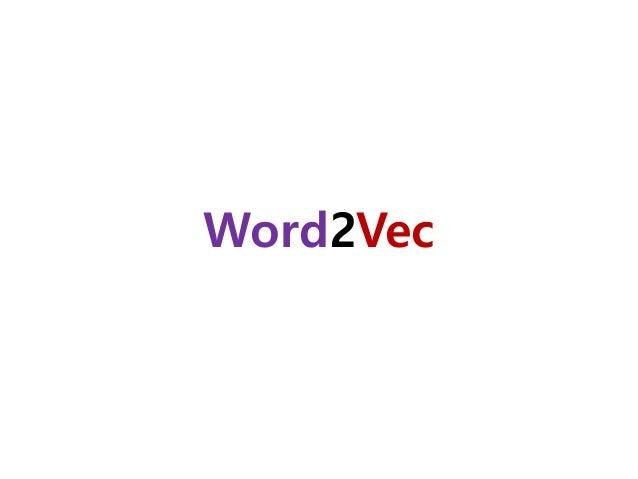 Word2vec? 195