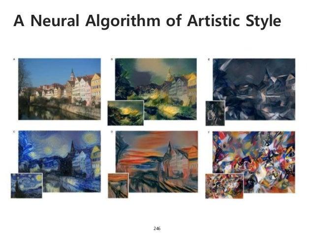 A Neural Algorithm of Artistic Style 247