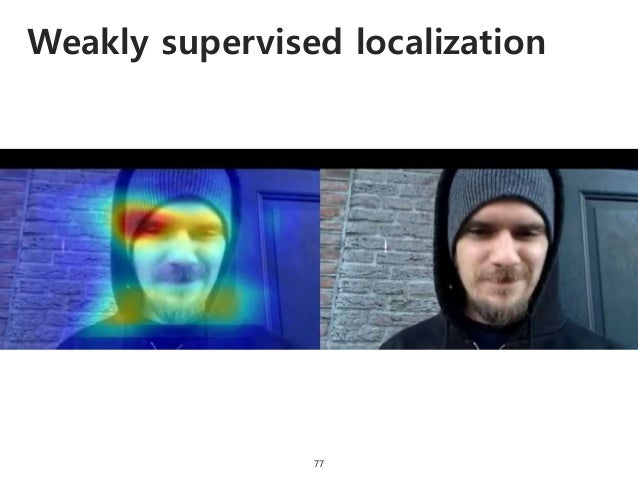 Weakly supervised localization 77